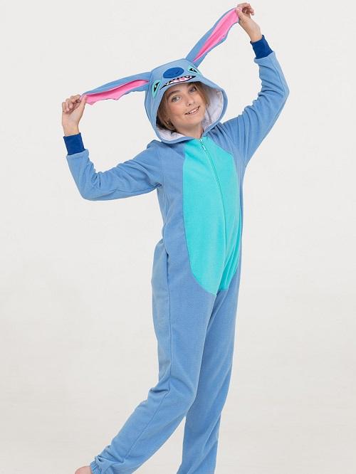 3962da9c30da Детская пижама Стич, кигуруми - купить недорого цвета голубой с ...